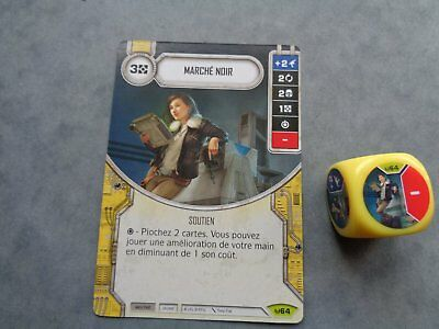 Star Wars Destiny Rare Marche Noir Vf