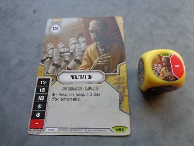 Star Wars Destiny Rare Infiltration Vf