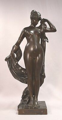 Antique Nude Phyrne Before The Judges Campagne 1851-1910