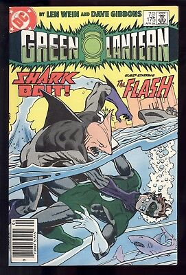 Green Lantern (1960) #175 1st Print Killer Shark Mark Jewelers Wein Gibbons VF-