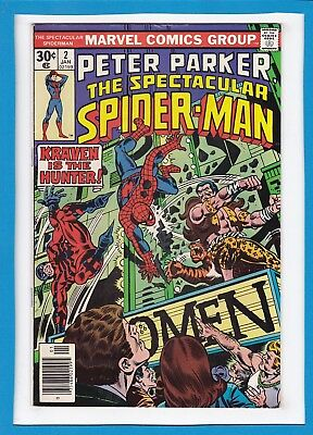 Peter Parker The Spectacular Spider-Man #2_Jan 1977_Fine Minus_Tarantula_Kraven!