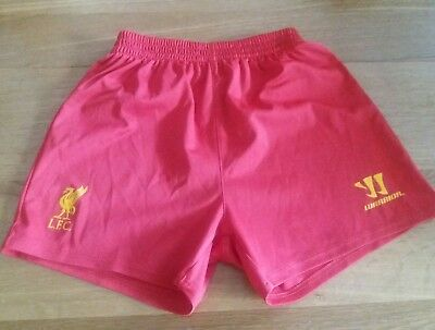 Boys/girls Liverpool F.c Red Shorts Age 4-5