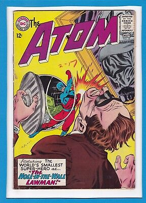 """The Atom #18_May 1965_Very Good Minus_""""the Hole-In-The-Wall Lawman""""_Silver Age!"""