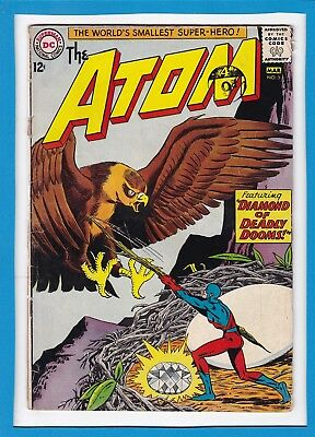 """The Atom #5_March 1963_Good+_""""diamond Of Deadly Dooms""""_Silver Age Dc!"""
