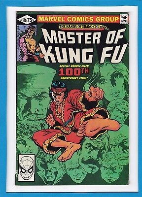 The Hands Of Shang-Chi, Master Of Kung-Fu #100_May 1979_Vf-_Anniversary Issue!