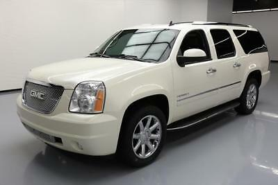 2013 GMC Yukon Denali Sport Utility 4-Door 2013 GMC YUKON XL DENALI SUNROOF NAV DVD VENT SEATS 71K #248224 Texas Direct