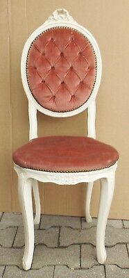 Beautiful Age Baroque Style Padded Chair - Shabby Chic einzelstuhl