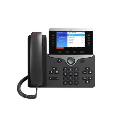 New Cisco CP-8851-K9 Unified IP VOIP Colour Display Telephone Phone 8800 Series