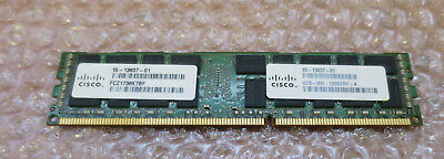 Cisco 4x8Gb UCS-MR-1X082RY-A 32Gb DDR3 SDRAM ECC Reg DDR3 1600 Memory Module