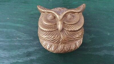 Vintage BRASS Door Knocker in the OWL Design