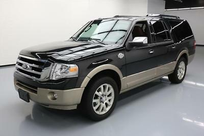 2014 Ford Expedition  2014 FORD EXPEDITION KING RANCH 7-PASS SUNROOF NAV 71K #F50541 Texas Direct Auto