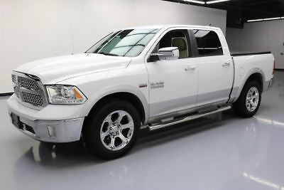 2015 Dodge Ram 1500 Laramie Crew Cab Pickup 4-Door 2015 DODGE RAM 1500 LARAMIE CREW HEMI VENT LEATHER 50K #608229 Texas Direct Auto