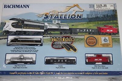 N Scale Bachmann The Stallion Ready To Run Complete Electric Train Set