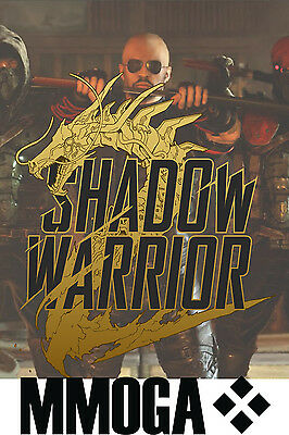 Shadow Warrior 2 II - PC Spiel Code - STEAM Digital Download Key Neu [DE][EU]
