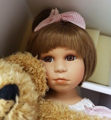 "Bisque Porcelain Doll Limited Edition ""Sophie"" M.J.D. Florence Collection"