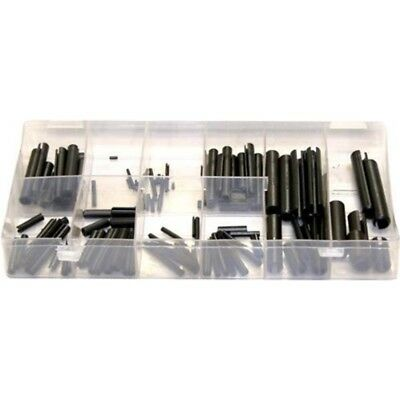 Toolzone 120pc Roll Pin Assortment - Plastic Case Set Piece
