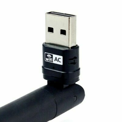 1200Mbps Wireless USB Adapter 802.11ac Dual Band 2.4/5GHz WiFi Network Dongle