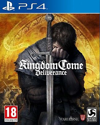 Kingdom Come: Deliverance (PS4) BRAND NEW AND SEALED - IN STOCK - QUICK DISPATCH