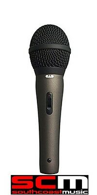 CAD CAD22A Supercardioid Dynamic Microphone On/Off Switch w 15 Ft XLR Mic Cable