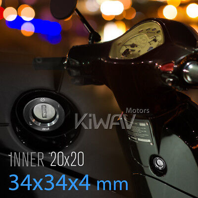KiWAV alloy Ignition Switch Protector black for Gilera ICE RUNNER FX FXR VX VXR
