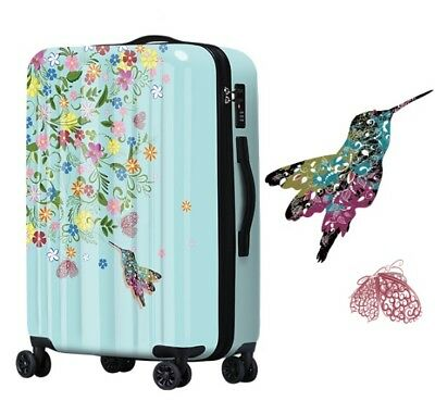 E463 Lock Universal Wheel Hummingbird Travel Suitcase Cabin Luggage 28 Inches W