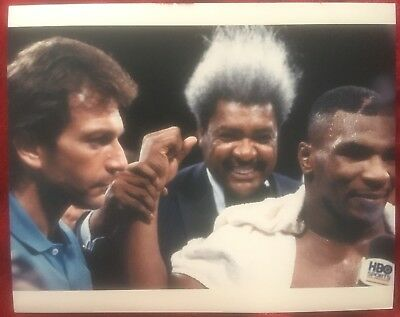 Nice Rare Original First Generation Photo Mike Tyson Don King Smith Fight 1987!!