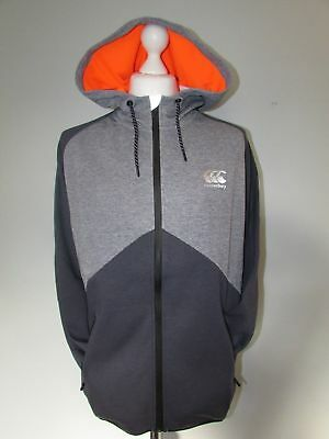 Canterbury Mens Full Zip Vaposhield Water Repellent Hoody Hoodie Size L Rrp£52
