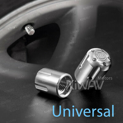 VAWiK tire valve cap 2pcs Aluminum american scooter tire valve 8/32 thread