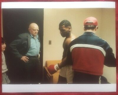 Very Rare Original First Generation Photo Mike Tyson Cus D'Amato Pro Debut 1985!