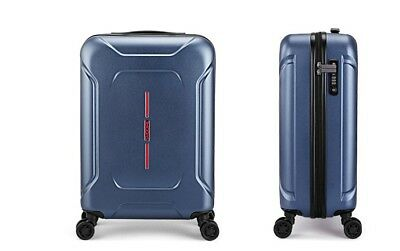 "E65 20"" ABS PC Password Lock Portable Case Trolley Travel Bag Suitcase S"