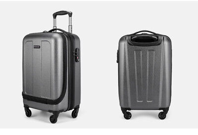 "E76 19"" ABS PC Password Lock Portable Case Trolley Travel Bag Suitcase S"