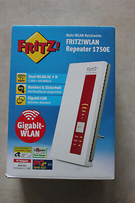 AVM FRITZ!WLAN Repeater 1750E WLAN Repeater *wNEU