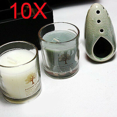 10X Valentine's Day Yoga Treatments Scented Candles Wholesale Lots 10 Set