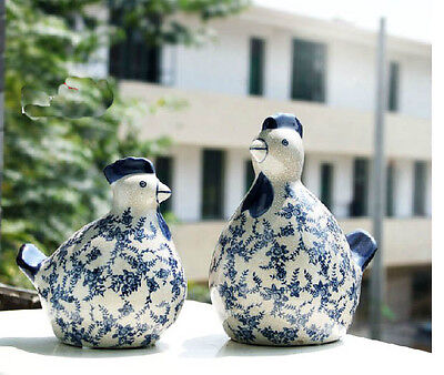 New Classical Style High-Temperature Ceramics Chicken Pattern Home Decoration