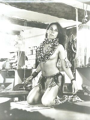 Photo Vintage ,  Pin-Up indienne,  Charme , Hubert Toyot , 1969