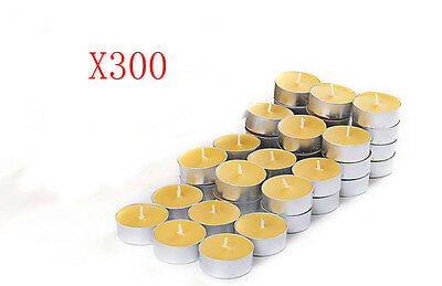 300X Wedding Party Romantic Round-Shaped Yellow Candles Wholesale Lots 300 PCS