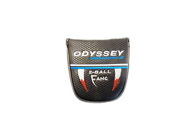 *used*  Vgc  Odyssey Works 2-Ball Fang Putter Headcover