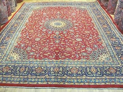 A MAGNIFICENT OLD HANDMADE MASHAD KHORASON PERSIAN CARPET(392 x 300 cm)