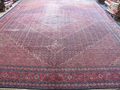 ANTIQUE WONDERFUL TABRIZ AZERBAIJAN PERSIAN XL CARPET (550 x 400 cm)