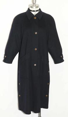 LODENFREY / WOOL Winter AUSTRIA Women GIRL - SHORT SLEEVES Long Over COAT 14 L