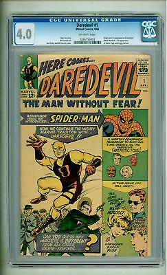 Daredevil #1 Cgc 4.0 1964 First Appearance