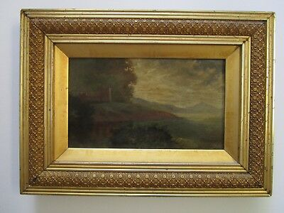 Antique 19Th To 20Th Century Painting Maine American Landscape Impressionism Old