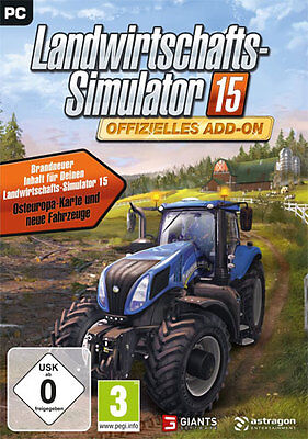 Jeux PC Officiel Add-On à Farming-Simulator 15 Expédition DVD Produit Neuf