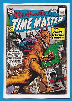 "Rip Hunter...time Master #1_April 1961_G/vg_""the 1000 Year-Old Curse_Silver Age!"