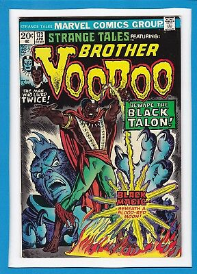"Strange Tales #173_April 1974_Fine+_Brother Voodoo_""beware The Black Talon""!"
