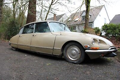 1971 Citroën  1971 Citroen DS 21 – M Pallas? 4-speed manual transmission and leather project