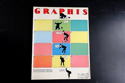 Vintage 1972 Graphis 159, The Art of the Comic Strip - various artists & strips