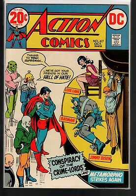 Action Comics #417 VF 8.0 DC Classic Bronze Age 1972 Metamorpho!!!