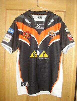 Castleford Tigers Rugby League Shirt XBlades