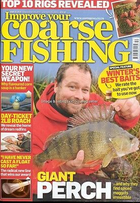 Improve Your Coarse Fishing December 2011 January 2012 issue 254 Giant Perch